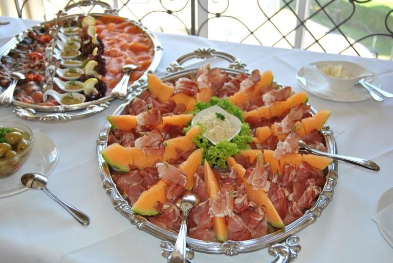 Prosciutto mit Melone